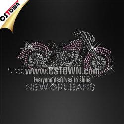 La Nouvelle Orléans Nailhead Bling de moto sur les transferts de gros de fer