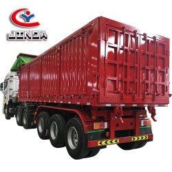 Liangshan Jinda de boa qualidade 3 Eixo Lado Pesado reboque/reboque de descarga/carga reboque/reboque de descarga de mercadorias para venda