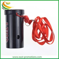 Customized Plastic Cylindrical Whistle 、 LED Light Sports Whistle for Events (カスタマイズされたプラスチック製円筒内部告発者、 LED ライトスポーツ内部告発