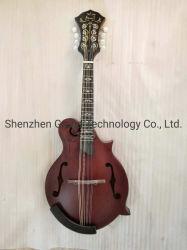 Abeto macizo de Arce superior Reverso hechas a mano de la mandolina