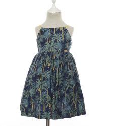 OEM de vêtements pour enfants filles soleil tropical Frocks bébé robe de coton pour l'été