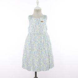 Les filles de l'été Floral sans manches Robes bébé Conception Frock occasionnel