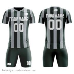 Nouveau design Quick Dry respirant tissus sportswear 100%Polyester costumes de soccer