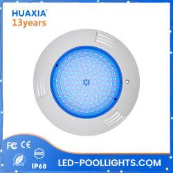 Llenos de resina de 42W Piscina plana LED Lámpara Luz iluminación subacuática