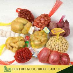 Sacchetto netto di plastica di plastica della verdura e della frutta