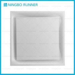 Klimaanlage T-Stab kurvte Quadrat-Rückholluft-Diffuser (Zerstäuber) für T-Stab Decke