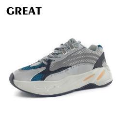 Greatshoe Men's Sneaker Sport Chaussures de course pour les hommes et dames Chaussures de marche fabriqués en Chine