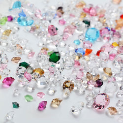 Nail Art Bijoux Ongles Micro percer Rhinestone nue en verre transparent de diamant Ab 10g de gros de bijoux
