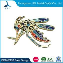 Бумаги мигает металлические конструкции/PVC поиск оптовых моды дешевые металлические чести булавка на одежде (437)