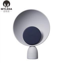 Современное оформление внутри металлического оттенка таблица лампа настольная лампа