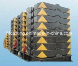 Terrex Crane의 샌드캐스팅 10 톤 카운터 무게가 적절함 용량