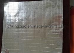 Maglia riflettente ignifuga della fibra di vetro del di alluminio con la carta kraft