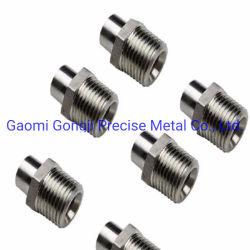 精密鋳造の投資鋳造の構築機械装置の予備品CNCの機械化の部品