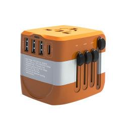 5A Smart Тип C быстрое зарядное устройство многопортовых адаптер USB для путешествий