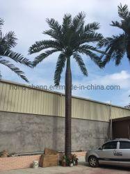 Albero di noce di cocco realistico artificiale dell'albero di noce di cocco della pianta di ingegneria della noce di cocco di Dawang di simulazione