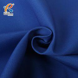 Tc 80/20 bleu royal plaine de tissu de toile de teinture en continu