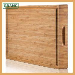 Küchenwerkzeuge Verschiedene Größen Dicke Starke Bamboo Schneideplatte mit Tropf-Groove
