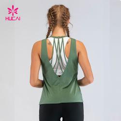 Vêtements de Yoga personnalisé Tank Top femmes Vêtements Gym