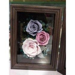 Продажа Crazing сохранить сохранить цветы роз рамка для фотографий для украшения