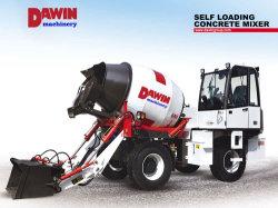 Fábrica de veículos de lote de concreto com escavações, carregamento e sistemas de transporte móvel