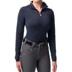 Lange Koker van de Dames van de Rek van Spandex van de polyester toont de RuiterOverhemden