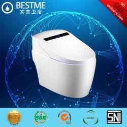 Средних Smart туалет Strong промывочную воду сохранение Wc чашу (BC-826)