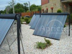 солнечная панель тепловая трубка вакуумных трубок солнечного коллектора для коммерческого и жилого (etc-10. и т.д-20. etc-30)