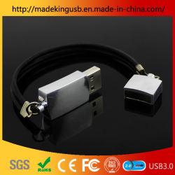 Personnalité créatrice Metal Bracelet U de disque/lecteur Flash USB