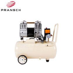 Pistola de pulverización de Inflador de neumáticos Taller Aerógrafo garaje pequeño Oilless de pistón compresor de aire sin aceite con el tanque