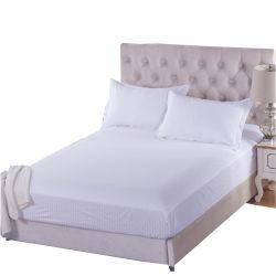 많 면 자카드 직물 줄무늬 적합하던 호텔 침대 시트