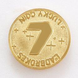 الكين المعدني الذهبي المينا المعدني المخصص للهدايا التذكارية