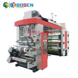 I soldi Bshyt-61000 salvano il tipo sei i colori stampatrice di Flexo del documento e del film di materia plastica