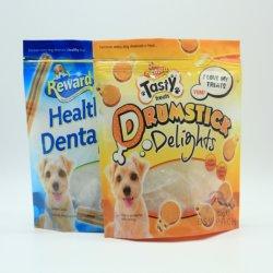 De kleurrijke Opnieuw te gebruiken Verpakkende Zakken van Doypack van de Hondevoer van de Ritssluiting Plastic