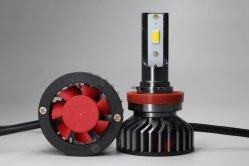 LEDのヘッドライト6000lumen 9005が付いている新しい車9006 9007 9008