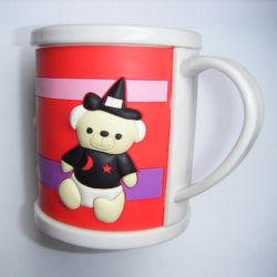 Plastique de haute qualité de la mode de promotion de la Coupe du PVC Souple Mug (028)