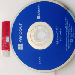 Windows 11 Professional 정식 버전 Rerail 팩 32/64비트 DVD en/FR/De/it 언어 DHL / FedEx 무료 배송