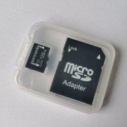 접합기 (TF-1029)를 가진 마이크로 SDHC/Micro Sdxc Uhs-I 메모리 카드 48MB/S 마이크로 SD 64GB 32GB 16GB 8GB 종류 10 TF 카드