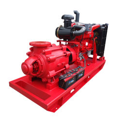 مضخة الطرد المركزي متعددة المراحل لنقل مياه البحر لمحرك الديزل