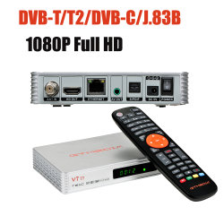 Neue Gtmedia V7 TT Digital WiFi TV Box DVB-T2 DVB-S Satelliten-TV-Receiver TV Box Receiver Unterstützung Cccam Spanien Frankreich Portugal