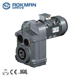 صندوق تروس الموتور الكهربائي للناقل اللولبي للذراع المتوازي من الفئة F