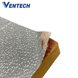 Pannello preisolato per condotti dell'aria da 20 mm in fenolico di alta qualità