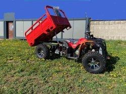Максимальная нагрузка 600 кг 300cc 4X4 фермы ATV тележки