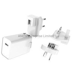 Verwendet für neue iPhone 12 mini maximale 20W auswechselbare des Stecker-USB-C Wand-Palladium-Proein-Outputaufladeeinheit Energien-des Adapter-5V 3A 9V 2.22A 12V 1.67A schnelle mit FCC DES UL-CER-kc