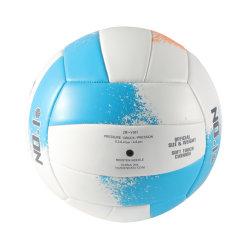 [فر سمبل] [أم] كرة الطائرة صنع وفقا لطلب الزّبون حجم رسميّة 5 شاطئ كرة الطائرة [بفك] [بو] جلد يرقّق كرة الطائرة