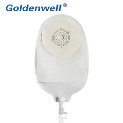 Certificado FDA una pieza de material no tejido Bolsa Bolsa Costomy Drainable Urostomía