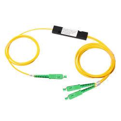 ABS Kasten-Faser Optik-Singlemode Sc/APC Koppler des PLC-Teiler-des Zopf-1310/1550/1490 nm-Fbt