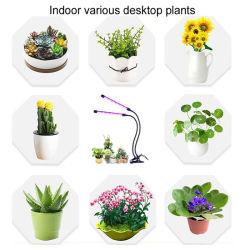 40W crescem plantas LED luz de plantas de jardim da luz de iluminação especial para promover o crescimento das plantas de obscurecimento da luz de enchimento no ciclo de separação de cor 2 cabeças