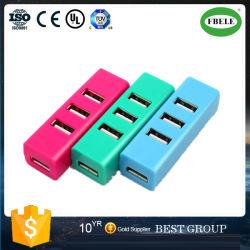 小型の列に Usbhub USB Splitter Mini 4 ポート USB 2.0 ハブを挿入し、出荷時の価格優位性を確保