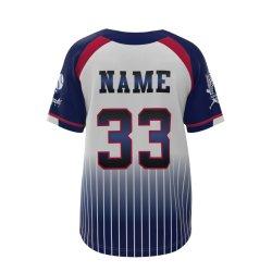 Спорт Софтбол единообразных куртки рубашки Женщины Мужчины бейсбола футболках NIKEID
