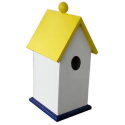 WPC пластика из дерева цвета квадратных Birdhouse